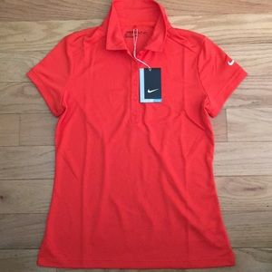 Nike women's Dry Fit Victory Polo New!